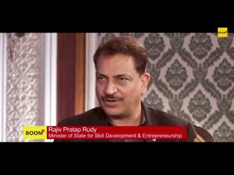 Interview with Rajiv Pratap Rudy: Only 2% of India's Population is Skilled