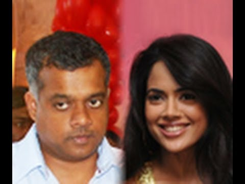 Sameera denied the rumours about Gautam's movie