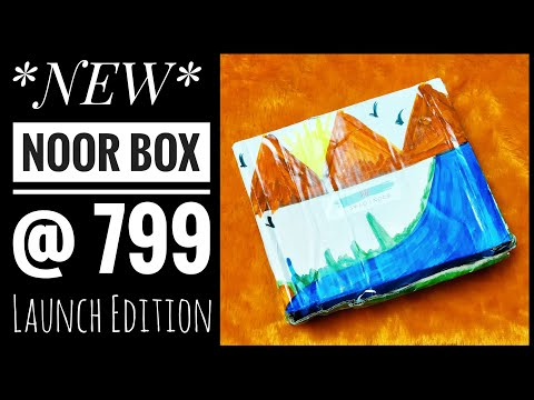 *NEW* Noor Box @ 799 |First on YouTube |Discount Code |Unboxing and Review