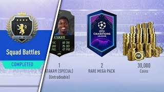 ELITE 1 SQUAD BATTLES REWARDS! 88 RATED WALKOUT! #FIFA19 ULTIMATE TEAM