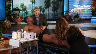 #TBT Ellen Waxes tWitch for 'Magic Mike XXL'