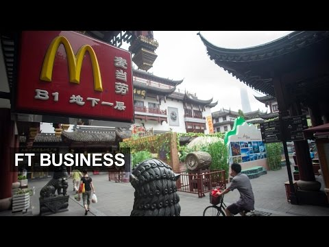 McDonald's in China runs out of meat