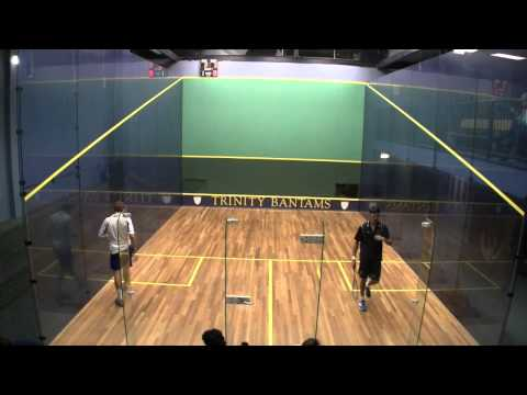 Men's College Squash: 2014 Franklin & Marshall at Trinity #2s
