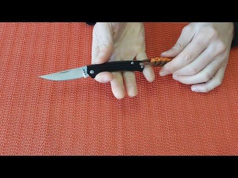 Нож Sanrenmu 7112RUC-LH. Маленький да удаленький.