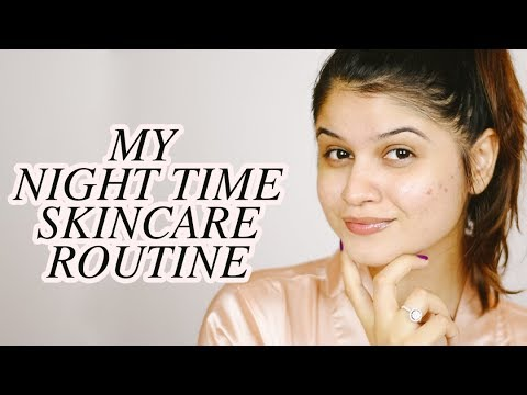 NIGHT TIME SKIN CARE ROUTINE INDIA // Bhakti Hirani