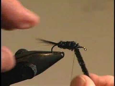 Learn Fly Tying Lesson 6 For Beginners The Montana Nymph with David Cammiss