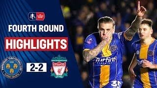 Shrewsbury Fightback to Force Shock Replay | Shrewsbury Town 2-2 Liverpool | Emirates FA Cup 19/20