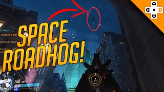 Overwatch FUNNY & EPIC Moments 28 - WHEN ROADHOGS FLY! - Highlights Montage