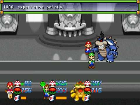 *SPOILERS* Super Mario RPG: The Seven Sages Final Boss + Ending Part 1
