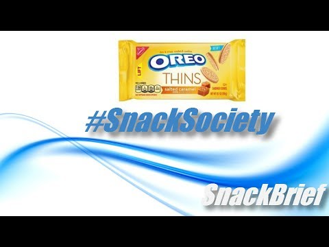 sAs SnackBrief: Oreo Thins Salted Caramel Review (NEW!)