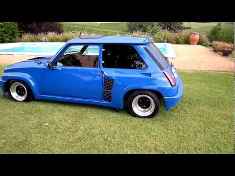 SAM_7172 KIT MAXI TURBO2 RENAULT 5 R5 ALPINE TURBO 1983 ESTERNO MOTORE.mov
