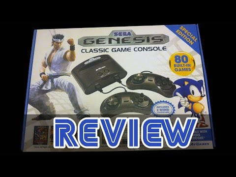 Sega genesis classic game console review how to save - Sega genesis classic game console games ...
