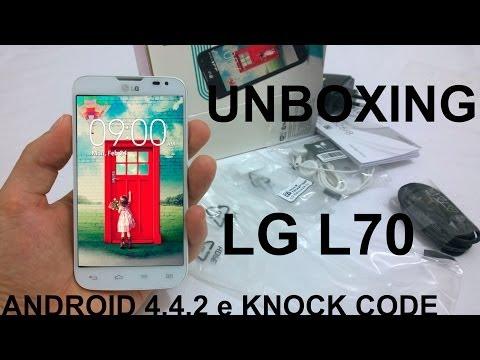 LG L70 - D325 Unboxing e Primeiras Impressões (BRASIL)
