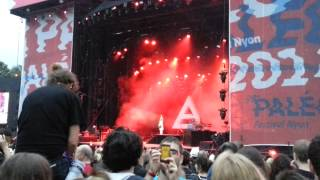 30 Seconds to Mars Video - 30 Seconds to Mars  - This is war (Paléo Festival 2014)