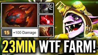 WTH?! Secret.Ace Timbersaw Farming on Heroes - 800 GPM is the result