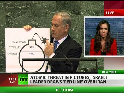 Netanyahu draws 'red line' over Iran, Abbas seeks more independence