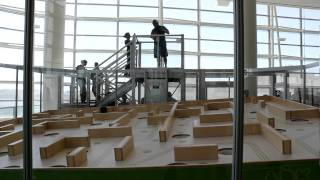 StartupGazette.com - Google I/O 2011 - Android ADK scaled up to power a real life ball maze