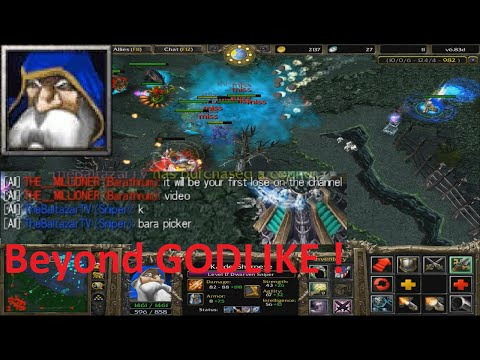 DotA 6.83d - TheBaltazarTV You WILL LOSE - Sniper Beyond GODLIKE!