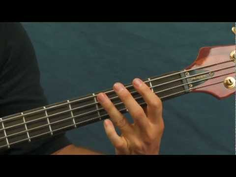 beginner bass lesson breaking the law judas priest breakin
