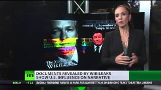 Documents revealed by WikiLeaks show US influence on narrative