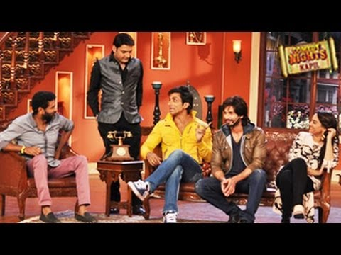 Sonakshi Sinha and Shahid Kapoor Comedy Nights With Kapil 8th December 2013 Episode