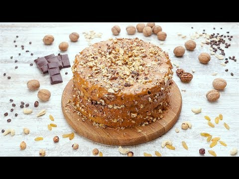 Торт «Сладкий орешек» - Рецепты от Со Вкусом