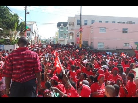Labour Rally on Central Street