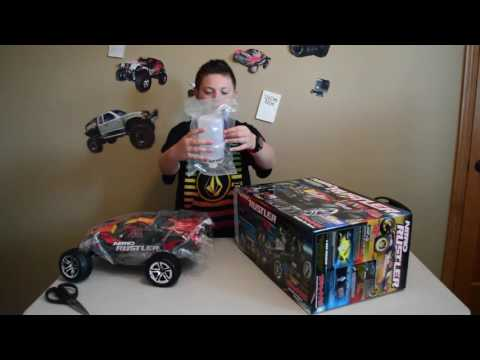 Traxxas Nitro Rustler Unboxing (Gas Powered)
