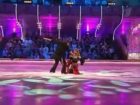 Виталий Новиков & Жанна Фриске (Ледниковый период 2008 г.)