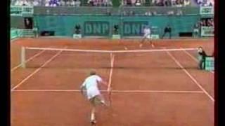 Medvedev Edberg French Open 1993