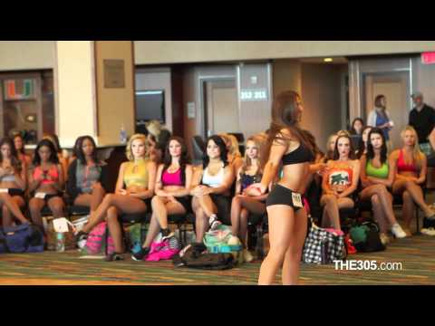 2012 Miami Dolphins Cheerleaders Auditions (NFL)