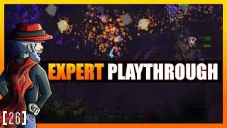 EXPERT LUNATIC CULTIST! Terraria 1.3 Let's Play - Expert Mode Playthrough! [26] PC Gameplay