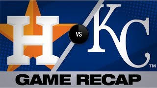 Reddick's 5 hits, 3 RBIs lead Astros to win | Astros-Royals Game Highlights 9/15/19