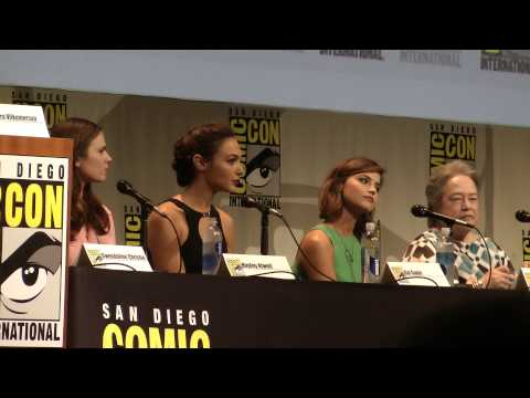 Brave New Warriors - full panel from ComicCon 2015 Gwendoline Christie Hayley Atwell Gal Gadot