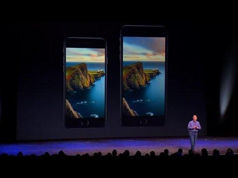 iPhone 6 and 6 Plus boast larger, sharper displays