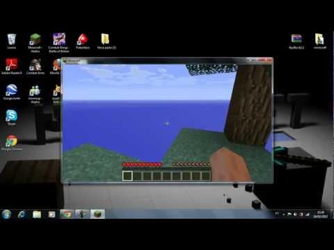 Como instalar o mapa Sky Block Minecraft