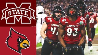 Mississippi State vs Louisville Music City Bowl | 2019 College Football Highlights