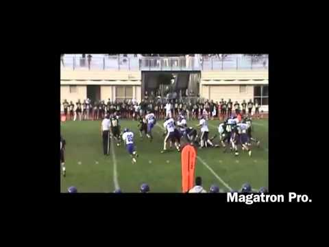 Jamarian Caston 2011-2012 Football Highlights (MPI)