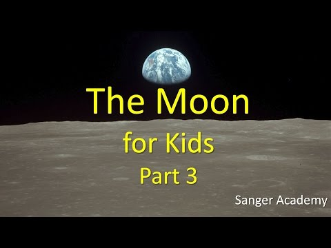 The Moon for Kids 3/3