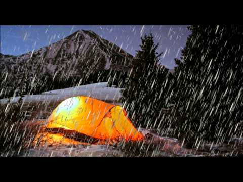 Sleep Sound Of Rain On Tent Sounds To Fall Asleep To Fast English Weather Relaxation Noises video