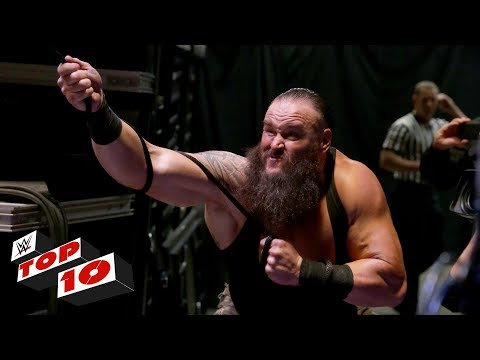 Top 10 Raw moments: WWE Top 10, January 8, 2018 thumbnail