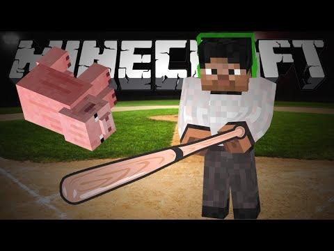 БЕЙСБОЛЬНЫЕ БИТЫ - Minecraft (Обзор Мода)