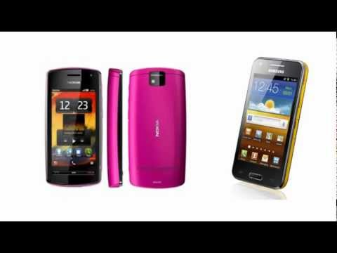 Nokia 600 OR Samsung I8530 Galaxy Beam, all specifications
