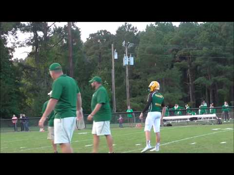 Bunn High School Football Pre Game: Bunn @ Louisburg Sep 19 2014