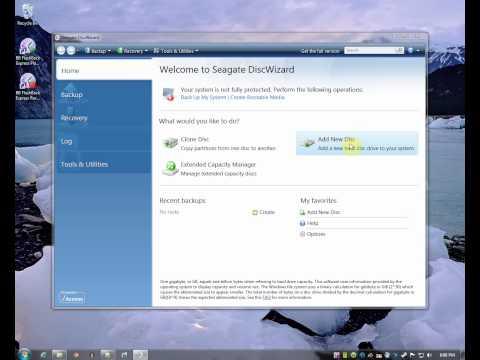 How to install windows 7 on a 3tb hard drive