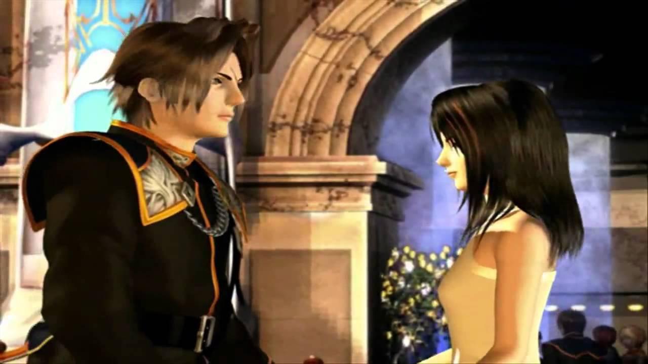 Final Fantasy VIII - Squall and Rinoa Ballroom Dance Scene HD ... Final Fantasy Rinoa And Squall