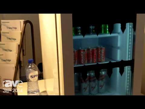 ISE 2014: UnihiTECH Demos Transparent LCD Refrigerator