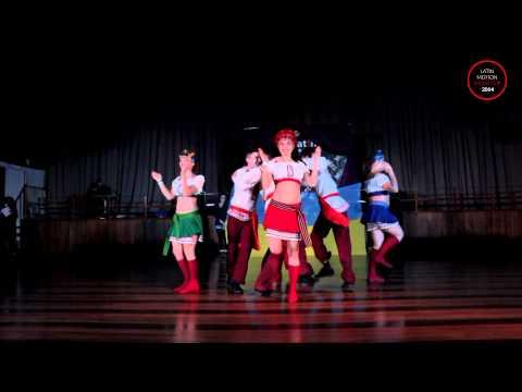 """Latin Motion Show Cup 2014 - """"Wild Dances"""" (LE Shkrobtak)"""