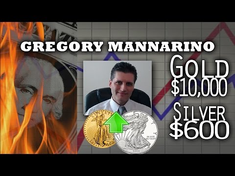 Gold & Silver Up as Dollars will be Dumped in Hyperinflation - Gregory Mannarino Interview