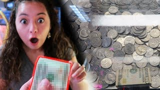 HUGE PROFIT at the COIN PUSHER!